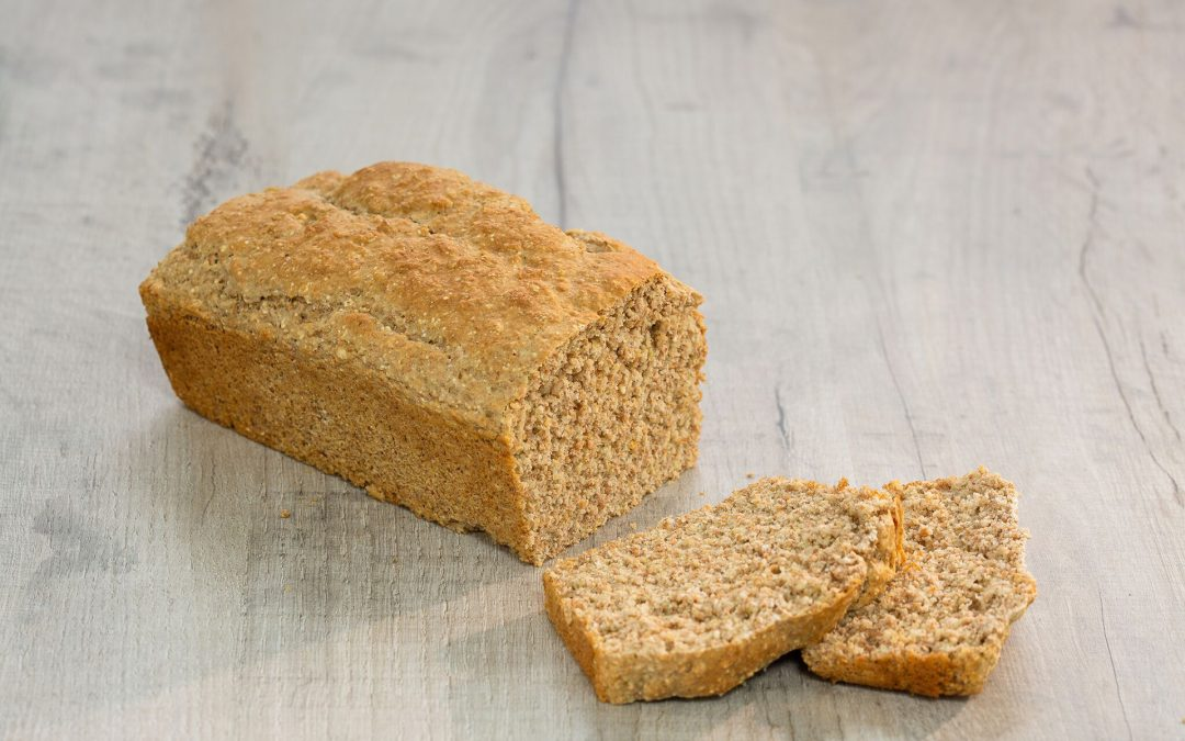 Wholemeal Soda Bread with Honey and Sea Salt