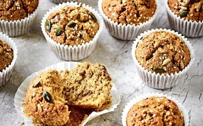 Seeded Wholemeal muffins