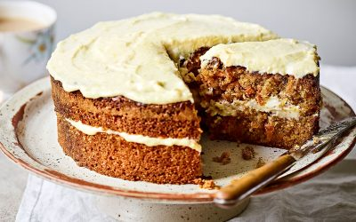 Wholemeal Carrot Cake